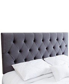 Laurine Full/Queen Tufted Velvet Headboard, Quick Ship