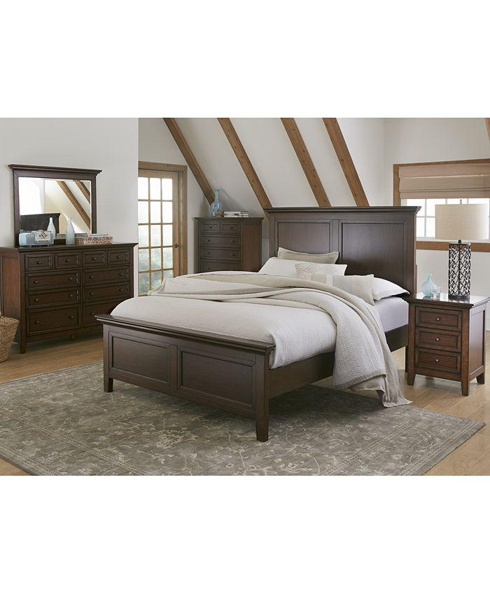 Furniture Matteo Bedroom, Cherry Veneer Bedroom Furniture