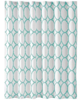 Delightful Martha Stewart Collection Mirror Mirror Shower Curtain, Created For Macyu0027s