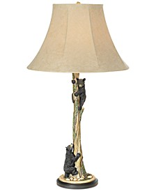 Climbing Bears Table Lamp