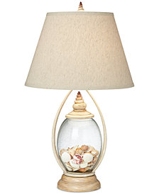 Pacific Coast Seascape Reflection Table Lamp
