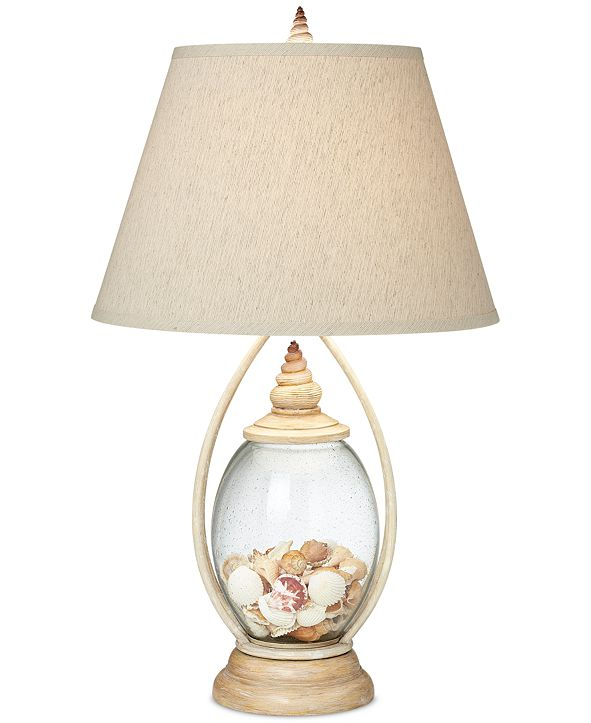 Kathy Ireland Pacific Coast Seascape Reflection Table Lamp