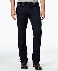 True Religion Men's Ricky Straight-Fit Dark-Rinse Stretch Jeans