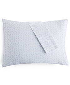 bluebell gray 230 Thread Count Printed King Pillowcases, Set of 2
