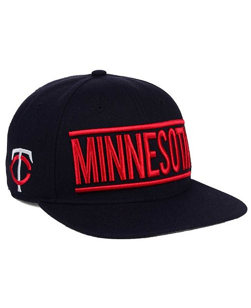'47 Brand Minnesota Twins TC On Track Snapback Cap