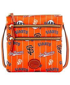 Dooney & Bourke San Francisco Giants Nylon Triple Zip Crossbody