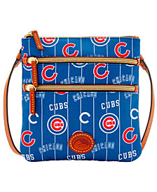 Dooney & Bourke Chicago Cubs Nylon Triple Zip Crossbody