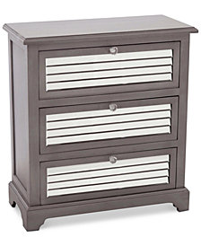 Jodene Three Drawer Chest, Quick Ship