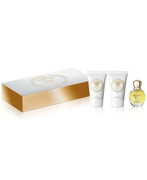Versace Receive a Complimentary 3-Pc. gift with any large spray purchase from the Versace Eros Pour Femme fragrance collection
