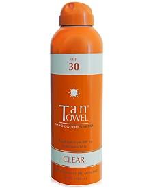 TanTowel SPF 30 Clear Sunscreen Mist, 6 fl oz