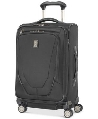 "Image of Travelpro Crew 11 21"" Carry-On Expandable Spinner Suitcase with USB charging port"