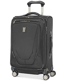 "CLOSEOUT! Travelpro® Crew™ 11 21"" Carry-On Expandable Spinner Suitcase with USB charging port"