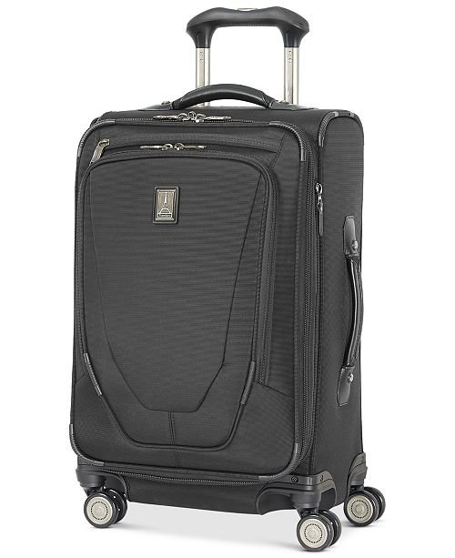 """Travelpro Crew™ 11 21"""" Carry-On Expandable Spinner Suitcase with USB charging port"""