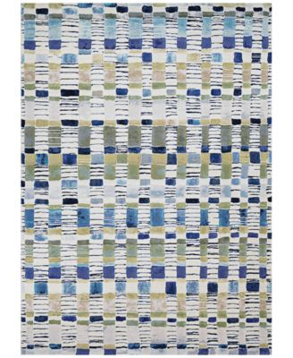 "Taylor Surrey Bone-Multi 2'7"" x 7'10"" Runner Rug"