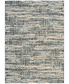 "Couristan Taylor Maynard Antique Cream-Teal 2'7"" x 7'10"" Runner Rug"