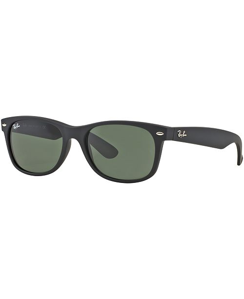 ca83418bc Ray-Ban Sunglasses, RB2132 NEW WAYFARER & Reviews - Sunglasses by ...