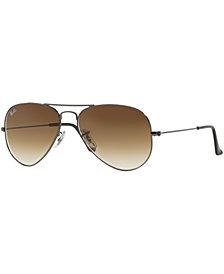 Ray-Ban AVIATOR Sunglasses, RB3025 58