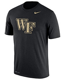 Nike Men's Wake Forest Demon Deacons Legend Logo T-Shirt