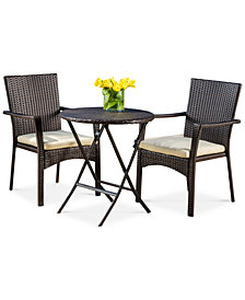 Havant 3-Pc Bistro Set, Quick Ship