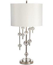 Pacific Coast New York Mod Polished Nickel Table Lamp