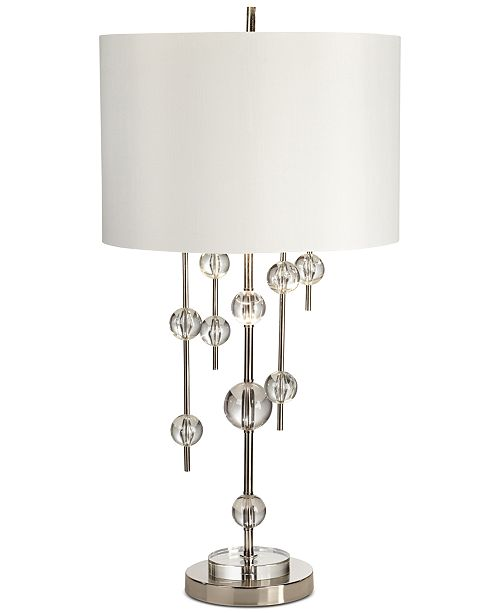 Pacific coast new york mod polished nickel table lamp lighting main image main image aloadofball