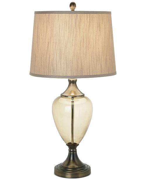 Kathy Ireland Pacific Coast Olive Glow Grand Table Lamp