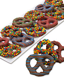 Chocolate Covered Company  12-Pc. Birthday Belgian Chocolate Dipped Pretzel Twist Collection