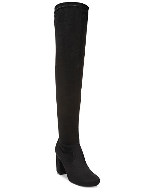 Carlos by Carlos Santana Rumor Over-The-Knee Block-Heel Boots