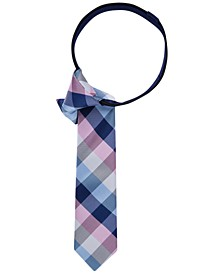 Buffalo Grid Zipper Tie, Big Boys