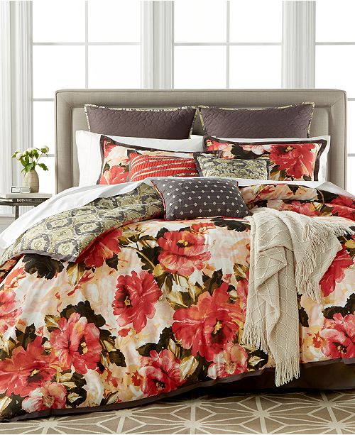 Kelly Ripa Home CLOSEOUT! Angelica 10-Pc. Reversible Comforter Sets