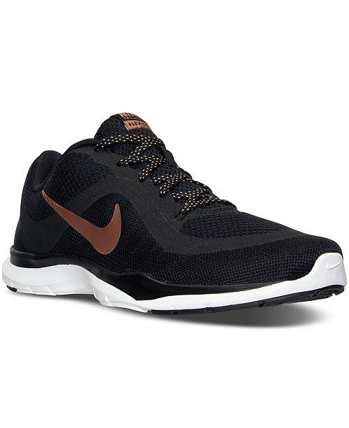best sneakers 0c7f3 3ea6b ... Nike Women s Flex Trainer 6 Training Sneakers from Finish ...
