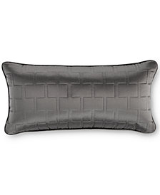 "Hotel Collection Frame Quilted 9"" x 18"" Decorative Pillow"