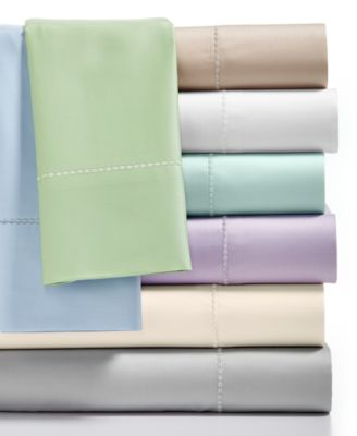 Image of Martha Stewart Collection Standard Pillowcases Pair, 300 Thread Count 100% Cotton, Created for Macy'