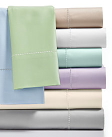 CLOSEOUT! Martha Stewart Collection Full Open Stock Flat Sheet, 300 Thread Count 100% Cotton, Created for Macy's