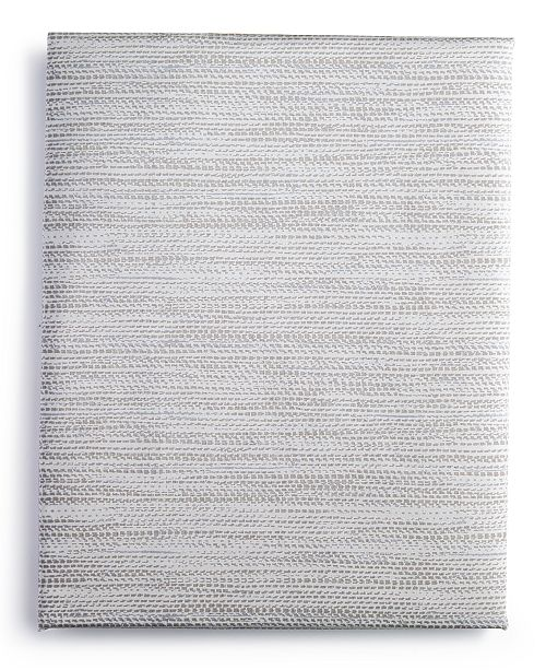 Calvin Klein Alpine Meadow Woven Reed King Fitted Sheet