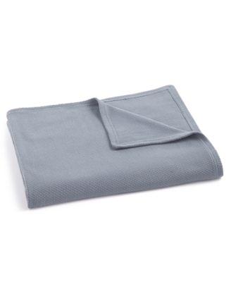 Wisteria Woven Texture King Blanket