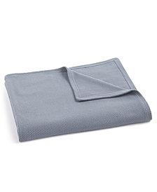 Calvin Klein Wisteria Woven Texture King Blanket