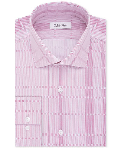 Calvin klein men 39 s slim fit infinite stretch variable for Calvin klein slim fit stretch shirt