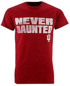 J America Men's Indiana Hoosiers Slogan Stack T-Shirt