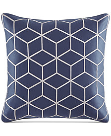 "Hotel Collection Cubist 20"" Square Decorative Pillow, Created for Macy's"