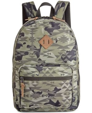 American Rag Men's Camo-Print Backpack,  Only at Macy's