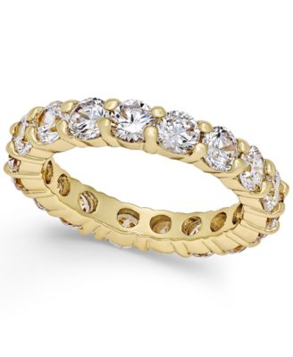 Image of Charter Club Crystal All-Around Ring, Only at Macy's