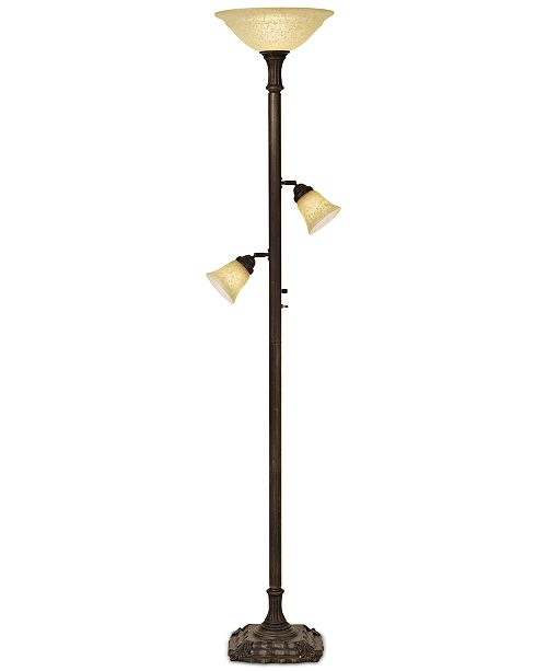 Kathy Ireland Home by Pacific Coast Torchiere Floor Lamp