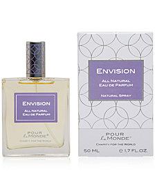 Pour le Monde ENVISION Certified 100% Natural Eau de Parfum, 1.7 oz