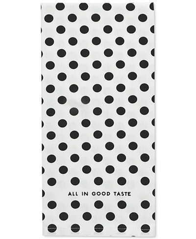 kate spade new york le pavillion kitchen towel - Kitchen Towels New Design