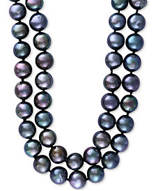 EFFY® Cultured Tahitian Pearl (10mm) 34 inch Long Strand Necklace
