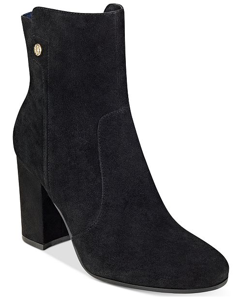 ae0616d89a1 Tommy Hilfiger Natalai Ankle Booties & Reviews - Boots - Shoes ...