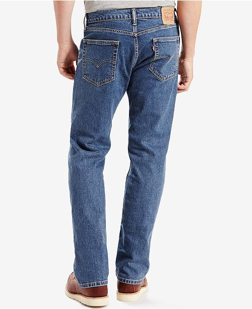 a63ee2e552e8 Levi s 505™ Regular Fit Jeans   Reviews - Jeans - Men - Macy s