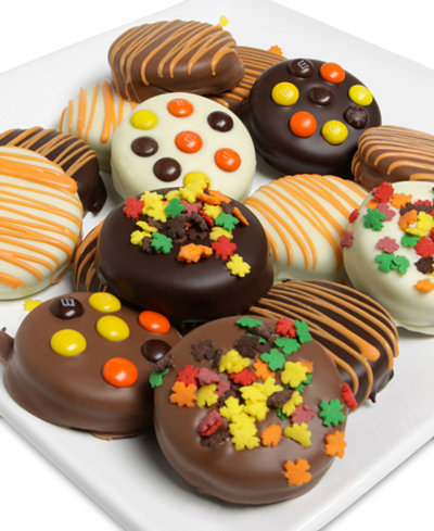 Chocolate Covered Company 12-Pc. Belgian Chocolate-Covered Oreos