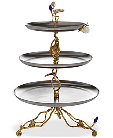 Michael Aram Enchanted Garden Collection Luxe Large Étagère